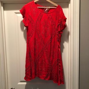 Beaded FRee people dress